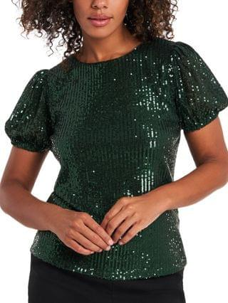 WOMEN Kendall Sequined Top