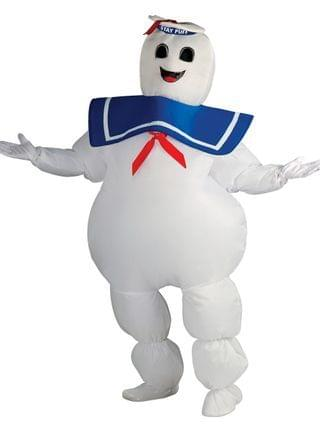 MEN BuySeason Men's Ghostbusters Inflatable Stay Puft Marshmallow Costume
