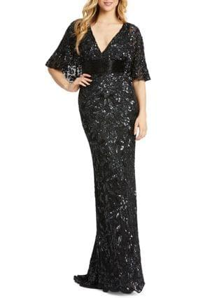 WOMEN Sequinned Gown