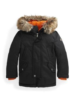 KIDS Little Boys Trim Down Parka Jacket