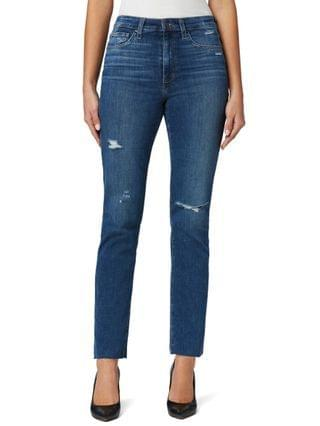 WOMEN High-Rise Straight-Leg Ankle Jeans