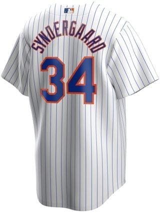 MEN Noah Syndergaard New York Mets Official Player Replica Jersey