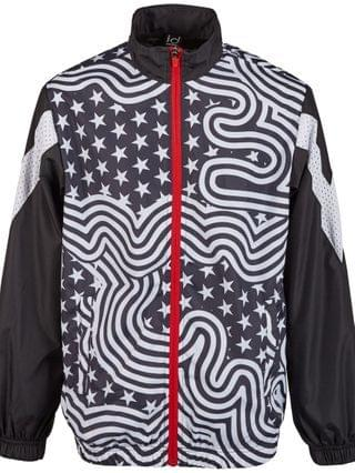 KIDS Big Boys Flag Windbreaker Jacket, Created for Macy's