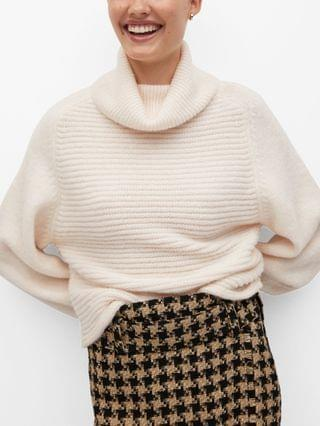 WOMEN Turtle Neck Oversize Sweater