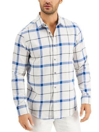 MEN Parsons Plaid Shirt, Created for Macy's