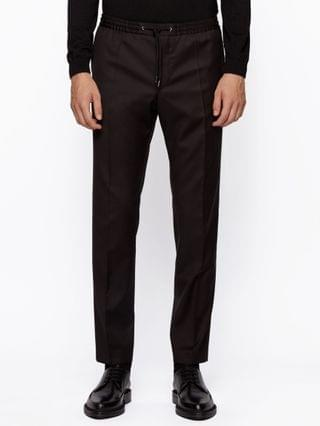 MEN BOSS Men's Banks RET Slim-Fit Trousers