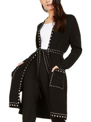WOMEN I.N.C. International Concepts Petite Studded Completer Cardigan Sweater, Created for Macy's