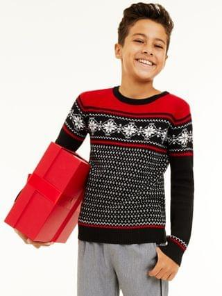 KIDS Snowflake Family Sweaters, Created for Macy's