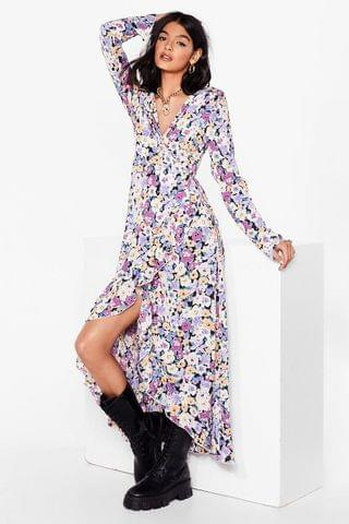 WOMEN Growing With It Floral Maxi Dress