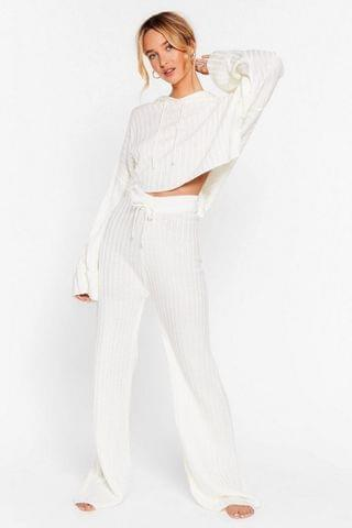 WOMEN Take the Easy Option Hoodie and Pants Lounge Set