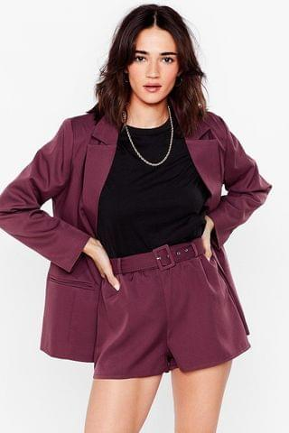 WOMEN It Suits You Petite Belted Shorts