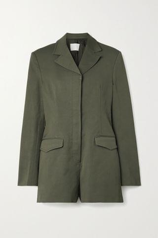 WOMEN DION LEE Drill playsuit
