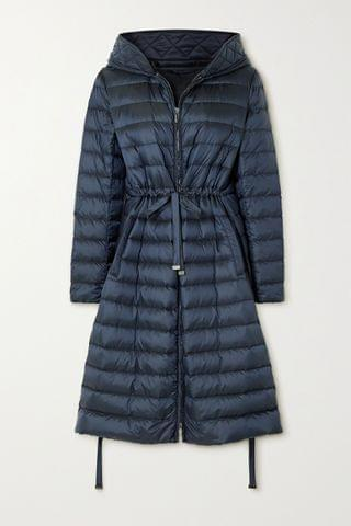 WOMEN MAX MARA The Cube hooded quilted shell down jacket