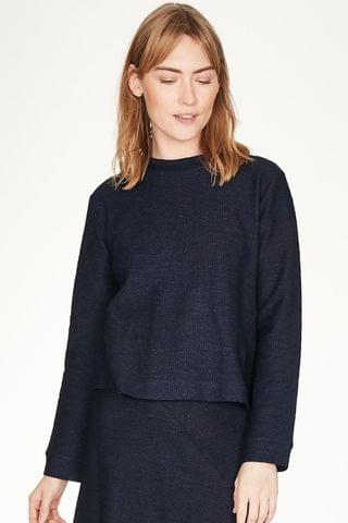 WOMEN Thought Blue Viola Top