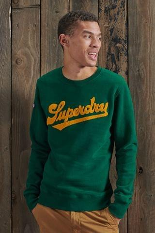 MEN Superdry Limited Edition College Chenille Sweatshirt