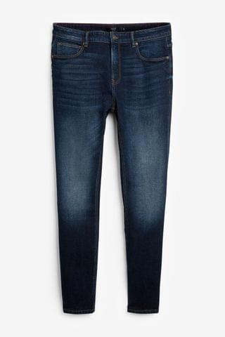 MEN Rich Blue Jeans With Stretch