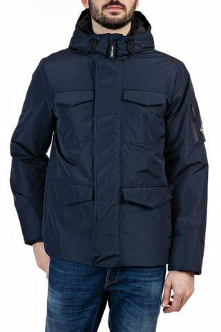 MEN Replay Blue Winter Coat