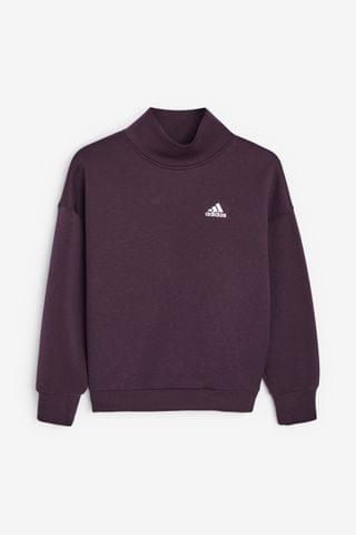 KIDS adidas Winter Crew Neck Top