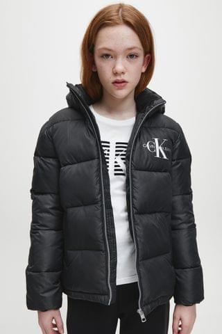 KIDS Calvin Klein Jeans Black Essential Padded Jacket