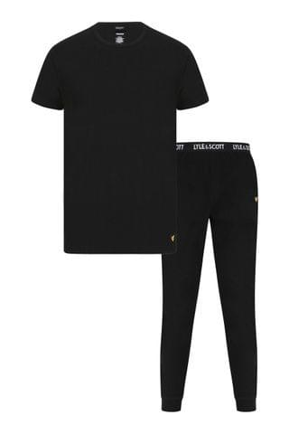 MEN Lyle & Scott Lounge Set Including Cuffed Bottoms And T-Shirt