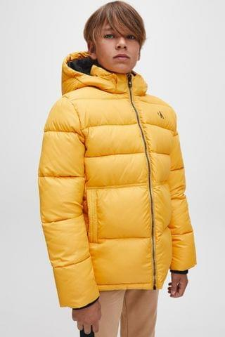 KIDS Calvin Klein Jeans Yellow Essential Padded Jacket