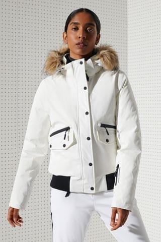 WOMEN Superdry Everest Down Snow Bomber Jacket