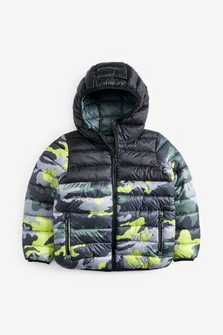 KIDS Camouflage Shower Resistant Padded Jacket (3-16yrs)