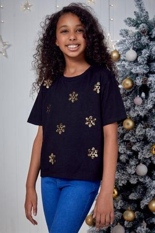 KIDS Fashion Union Girls Christmas Tee