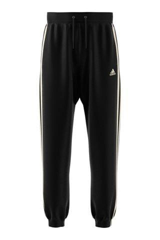 MEN adidas Black Winterized 3 Stripe Joggers