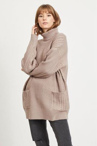WOMEN Object Sustainable Tenna Oversized Cable Jumper