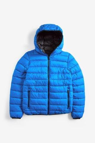 KIDS Cobalt Shower Resistant Puffer Jacket (3-16yrs)