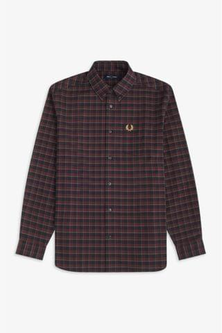 MEN Fred Perry Winter Tartan Check Shirt