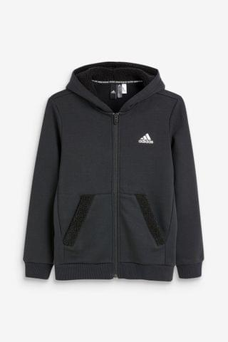 KIDS adidas Winterized Zip Through Hoody