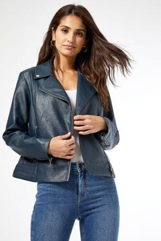 WOMEN Dorothy Perkins PU Biker Jacket