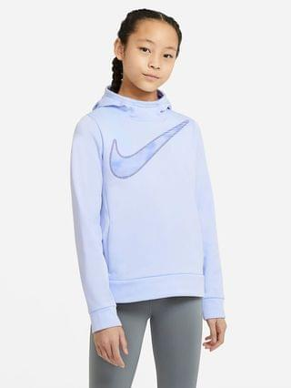 KIDS Big Kids' (Girls') Graphic Training Pullover Hoodie Nike Therma
