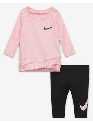 KIDS (0-9M) Top and Leggings Set Nike Dri-FIT