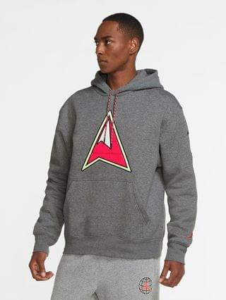 MEN Fleece Pullover Hoodie Jordan Winter Utility