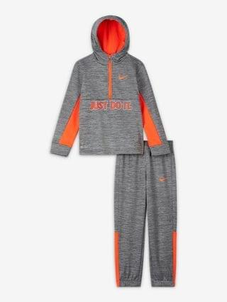 KIDS Little Kids' Hoodie and Joggers Set Nike Therma