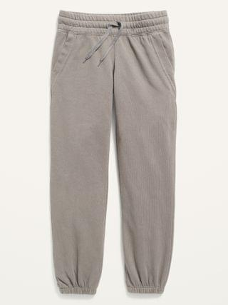 KIDS Relaxed Cinched-Hem Sweatpants for Girls