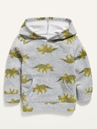 KIDS Unisex Dino-Print Pullover Hoodie for Toddler