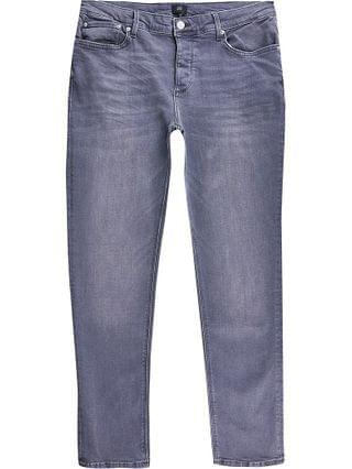 MEN Grey Dylan slim fit jeans