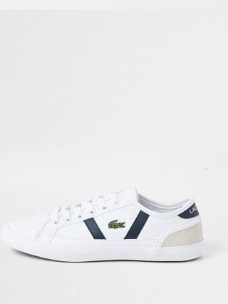 WOMEN Lacoste white Sideline trainer
