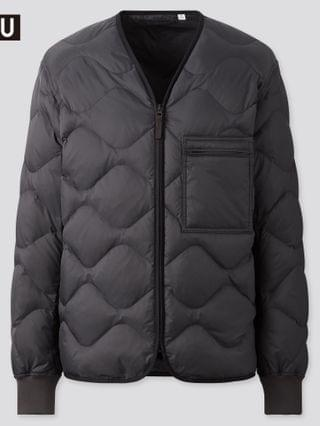 MEN u recycled down jacket