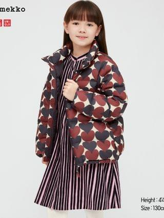 KIDS ultra light down volume jacket (marimekko)