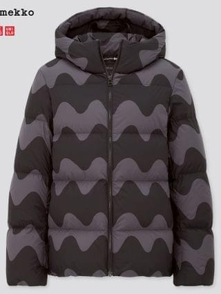 WOMEN ultra light down cocoon parka (marimekko)