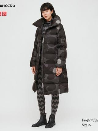WOMEN ultra light down cocoon coat (marimekko)