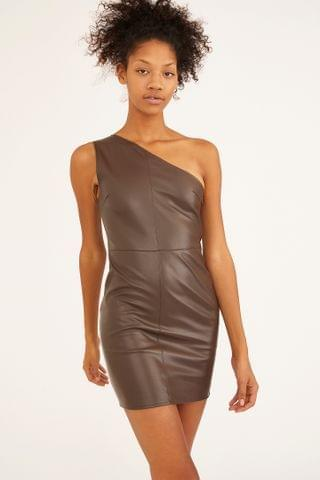 WOMEN Motel Monic One-Shoulder Dress