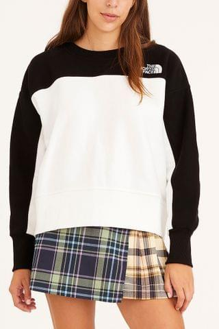 WOMEN The North Face Reverse Weave Crew Neck