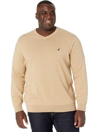 MEN Nautica Big & Tall - Big & Tall Sweater V-Neck