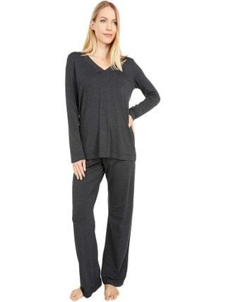 WOMEN Hanro - Champagne Long Sleeve Pajama